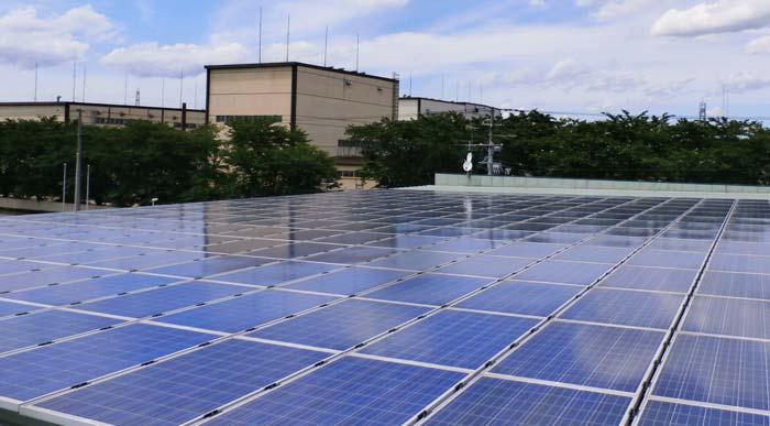 弊社設置 産業用太陽光発電
